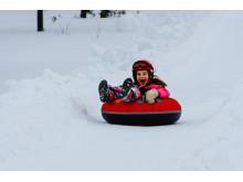 Snowtubing i Kläppen