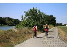 Fahrradtour entlang der Mulde bei Dehnitz