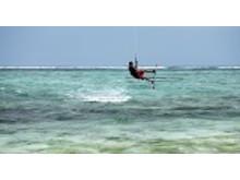 Kitesurfer Mauritius