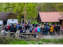 Valborgsaften på Tadre Mølle. Kredit ROMU