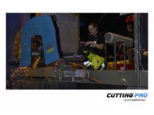 TYROLIT Cutting Pro Competition Ilpo Laaksu tävlande för Finland