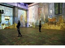 Kunstkraftwerk Leipzig -Van Gogh experience - Foto Andreas Schmidt