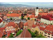 Sibiu i Romania