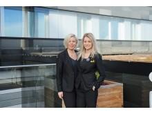 Pernilla Johansson VD och Lisa Hägglund Marknadschef