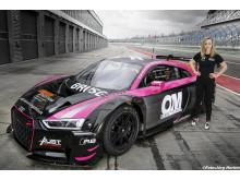 Mikaela Åhlin-Kottulinsky Audi R8 LMS 7