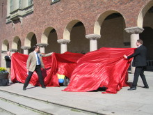 Stockholms första elbilar invigda
