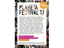 Affisch Planeta Festival