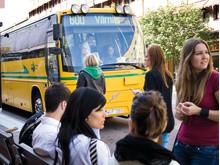 Värmlandstrafik inför gratis internet ombord på tåg och bussar - Busslinje 600