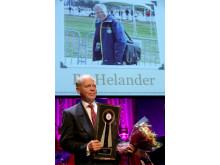 Bo Helander fick Årets hederspris