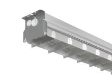 LED-armatur Zenit med bländskydd