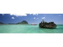 Mauritius - Katamaran vor Küste