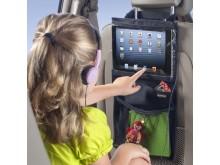 iPadhållare med smarta fickor, 1