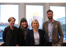Magdalena Andersson med Kompetenscentrum och biträdande centrumchef