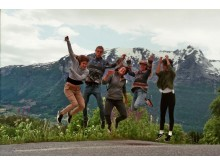Millennials på roadtrip i Norge