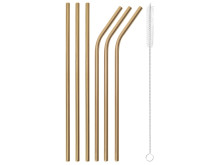 SBT_Straws_Set_6_pcs_with_brush_PVD_Copper