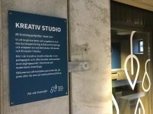 Kreativa studion vid Älta kretsloppcentral