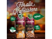Naturdiet Protein Coffee Shakes för alla kaffeälskare