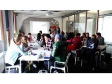 Camp America Orientation im AIFS Büro Bonn