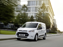 Ford Transit Connect med klasseledende  drivstofføkonomi og teknologiske løsninger