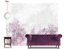 Scandinavian Surface - Mosaic Forest purple
