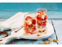 Jordbær og gresk yoghurt