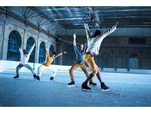 Vass dans på iskallt golv.