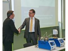 Gerätespende für die akademische Lehre und Forschung im Fachgebiet Materialtechnik und Materialanalytik
