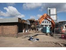 Wolverhampton demoliton begins