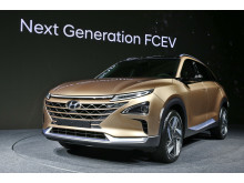 Hyundai Motor förhandsvisar nästa generationens vätgasdrivna SUV.