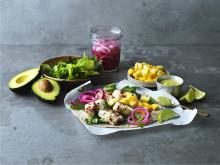 Gourmetbitar - recept fisktaco