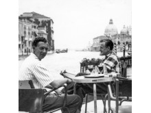 1954 - Britten and  Pears in Venice