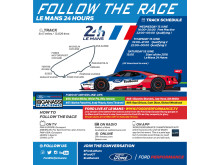 Follow the Race 24 hours Le Mans 2016