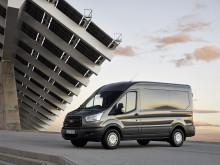 Ford Transit siivittää Fordin hyötyajoneuvomyyntiä
