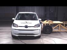 Volkswagen up! side impact test Dec 2019