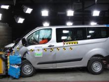 Ford Transit Custom ja Euro NCAP