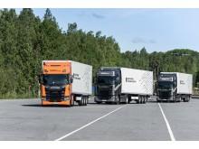 Scania Lkw im Platoon