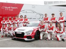 Förarna i Audi Sport TT Cup 2016