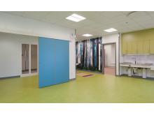 Utsmyckade och färgglada lokaler