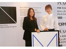 Monika Förster and Mari Isopahkala från Finland, winner of Nova Nordic Designer of the Year