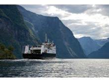 Cruise på Nærøyfjorden
