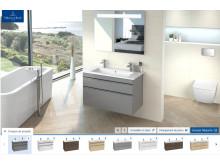 Digital bathroom planning