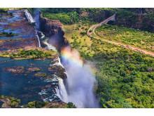 Victoria Falls er et must om du reiser til Zimbabwe