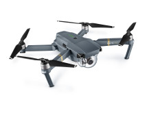 Mavic Pro (Unfolded, Side View from Left)