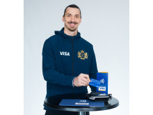 Zlatan Ibrahimović twarzą Visa w kampanii związanej z Mistrzostwami Świata FIFA 2018 - zdjęcie
