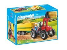 Riesentraktor mit Anhänger von PLAYMOBIL (70131)