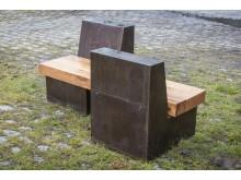 Ljudbänken är ett ambulerande konstprojekt som tidigare visats i bl.a. Tensta.