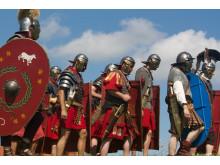 Romerske soldater fra Cohors Il Cimbria