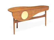 Finn Juhl: Extremely rare coffee table. Sold for DKK 370,000