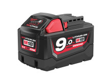 Milwaukee 18V 9,0 Ah batteri