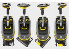 Kärcher gulvvaskemaskin BR 35/12 C - Svingbart børstehode